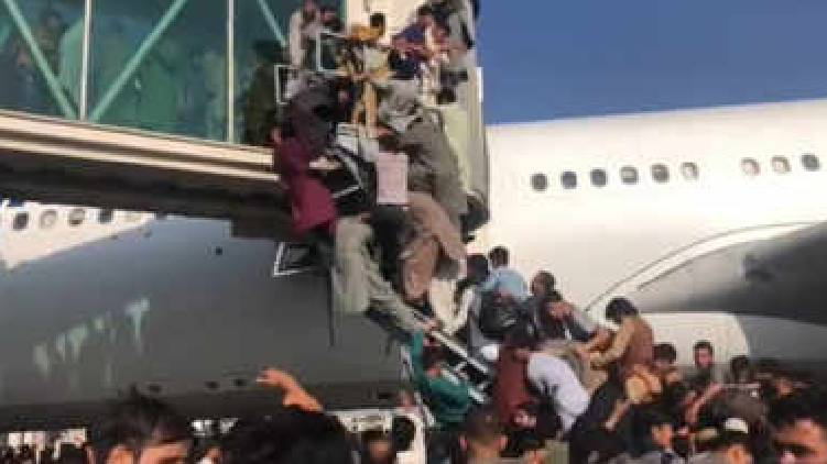 kabul airport firing