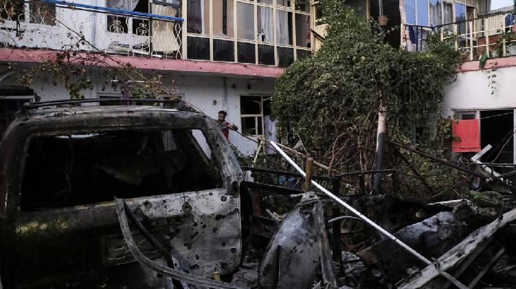 kabul american drone attack