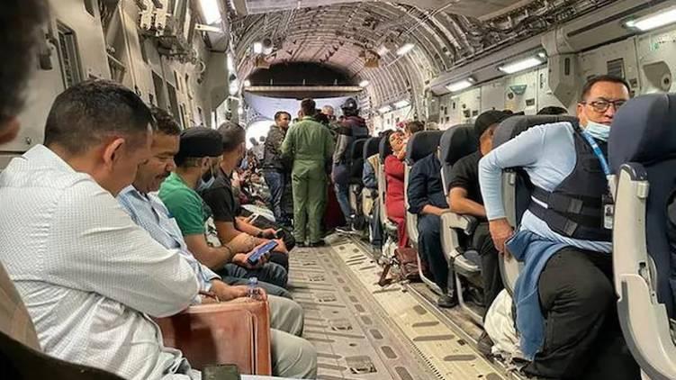 kabul indian evacuation