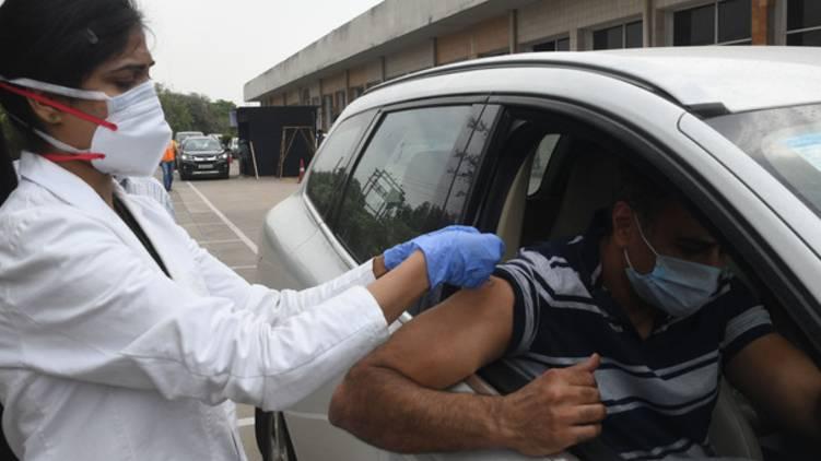 kerala drive through vaccination