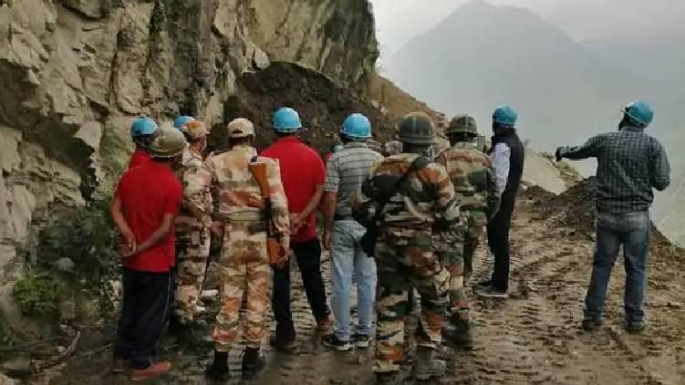 kinnaur landslide again