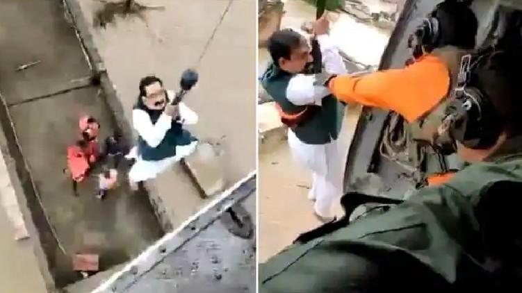 Madhya Pradesh Minister airlifted