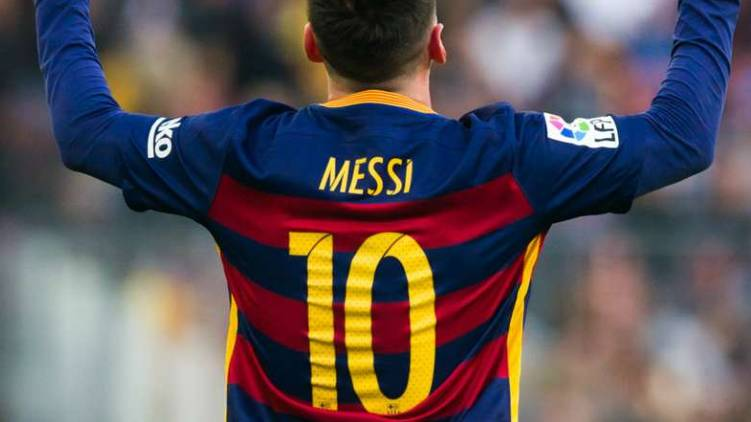 messi rejects number 10