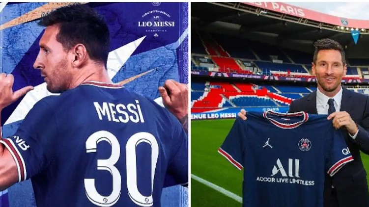 PSG releases Messi trailer