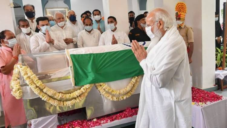 modi pay tribute kalyan singh