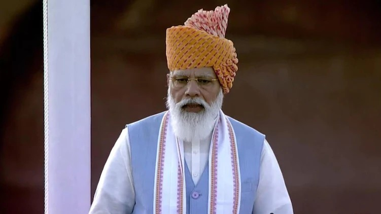 Modi on 75th independence