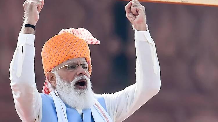 narendra modi independence 2021