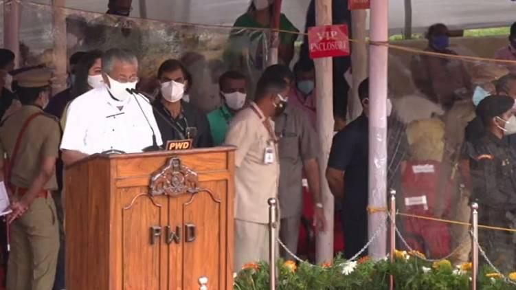 pinarayi vijayan independence day