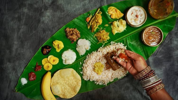 sadhya eating serving order