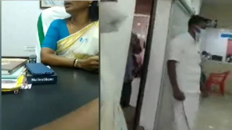 thrikakara onam gift controversy