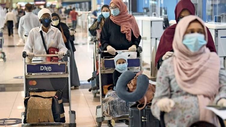 Expatriates return UAE today
