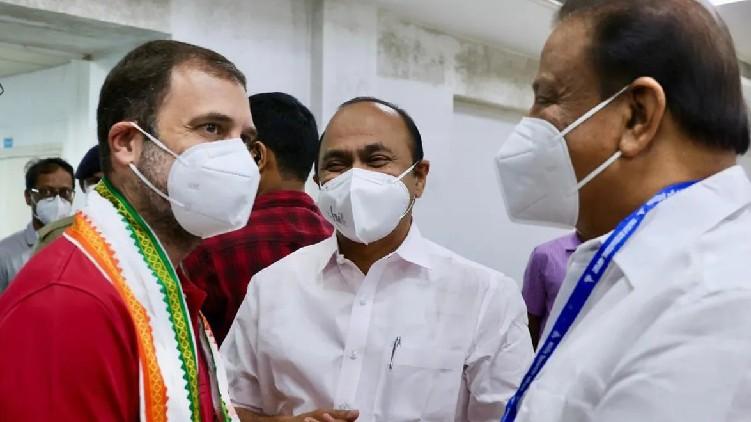 rahul gandhi's kerala visit