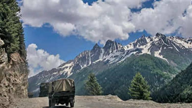 India China Border PLA shelters