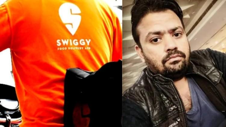 swiggy boy killed hotel owner
