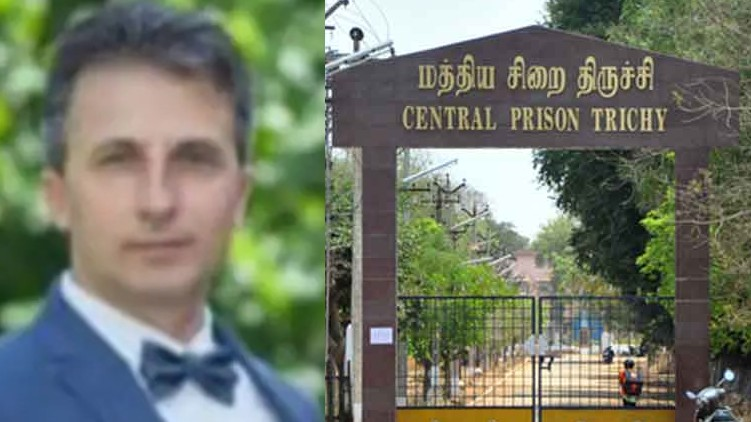 trichy central jail, bulgarian national escaped