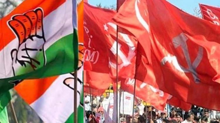 a vijayaraghavan against congress