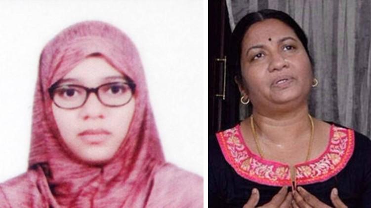 nimisha fathima and mother