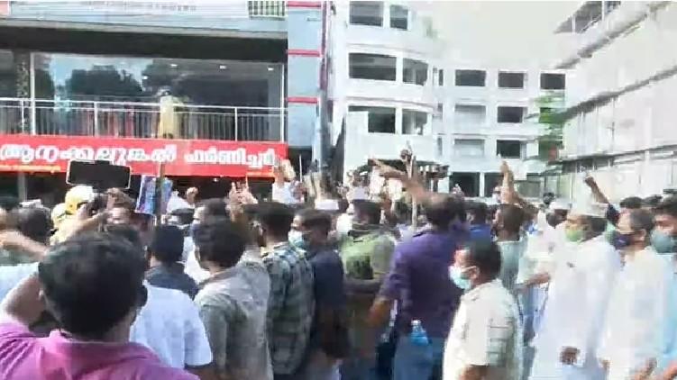protest against pala bishop
