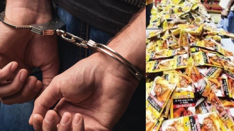 police officers arrested
