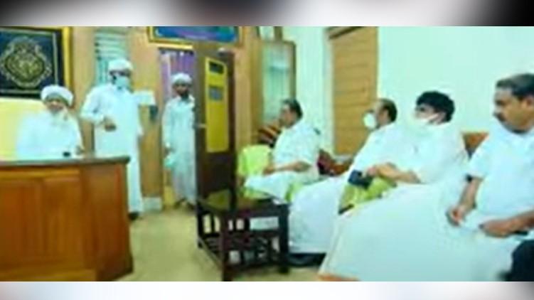congress-kanthapuram meeting