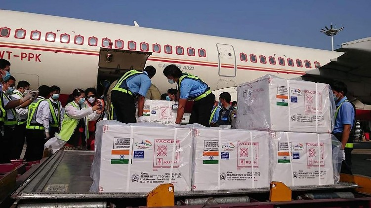 vaccine export india