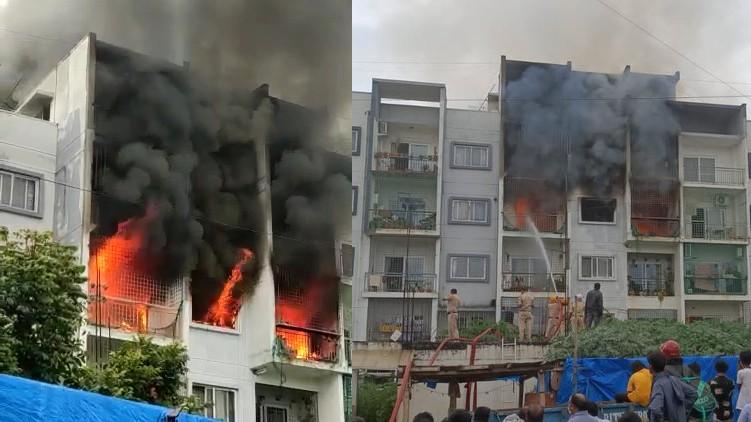 bengaluru fire accident