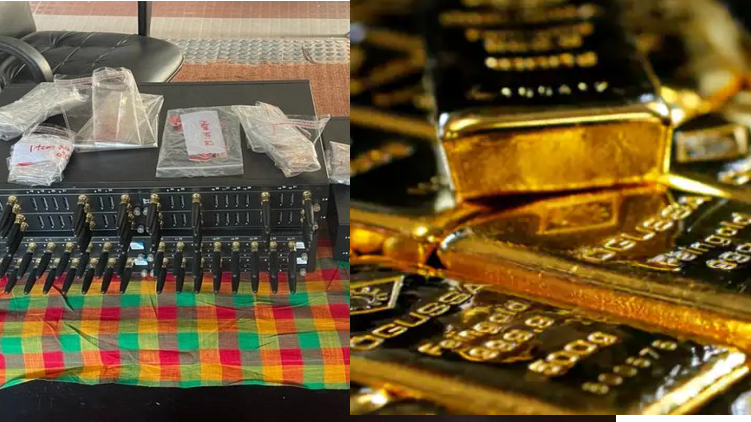 Parallel exchange culprit gold smuggling
