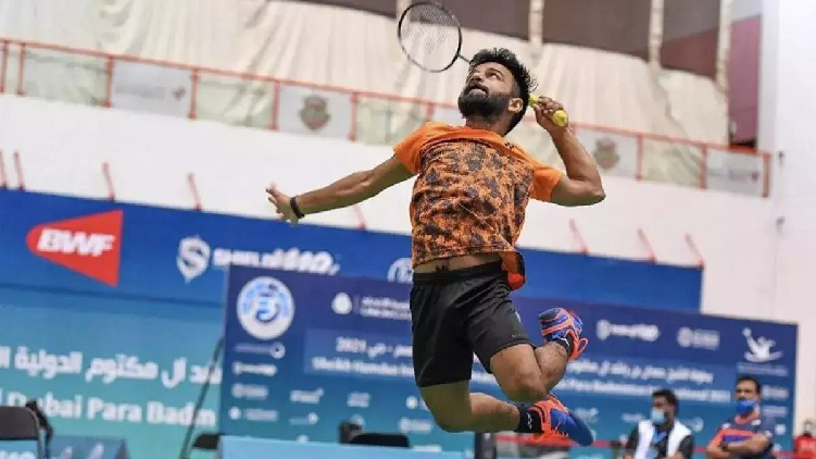 paralympics india gold badminton