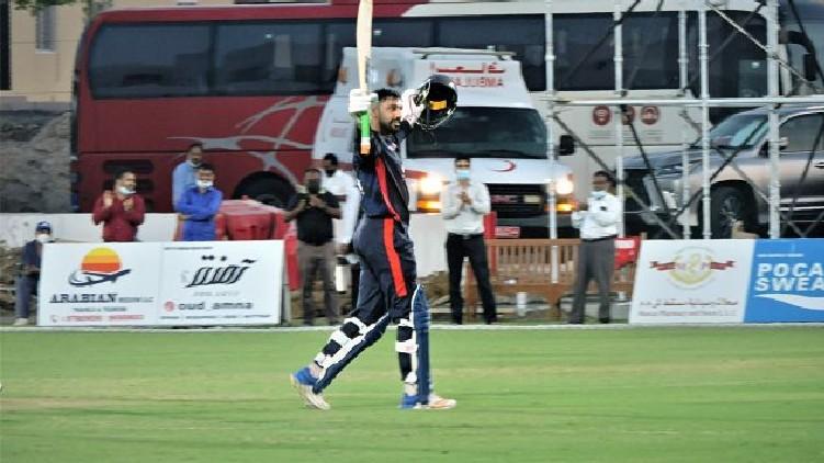 Jaskaran Malhotra sixes record