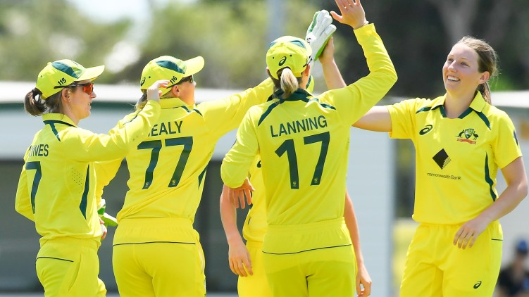 australia won india women