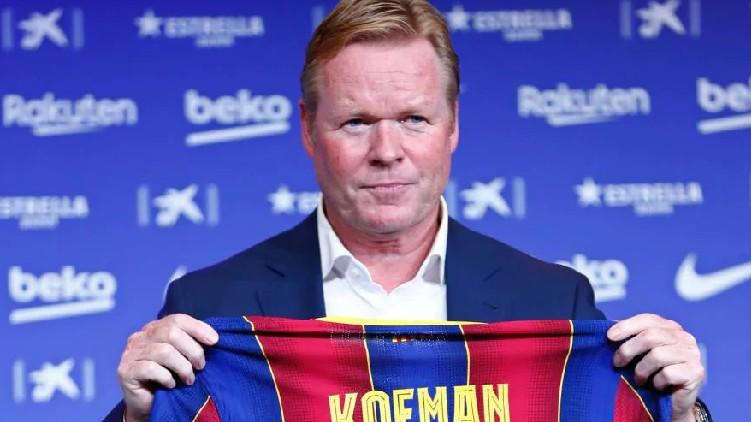 ronald koeman sacked barcelona