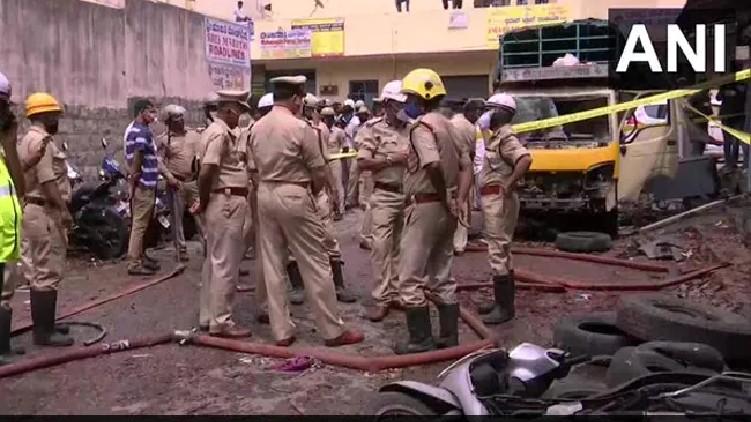 Blast Bengaluru Firecracker Godown