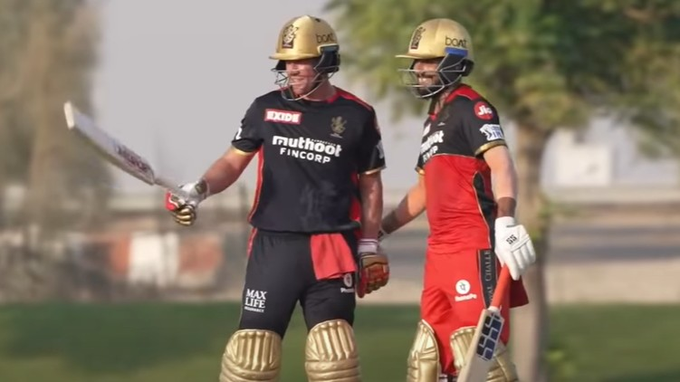 rcb intra squad devilliers