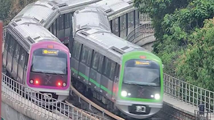 Bengaluru metro operate 10