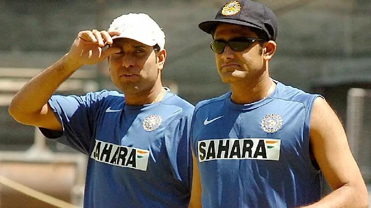 kumble laxman india coach