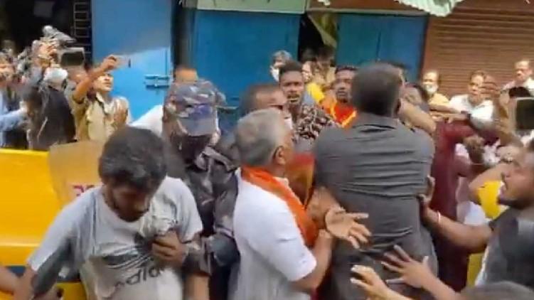 west bengal clash bjp