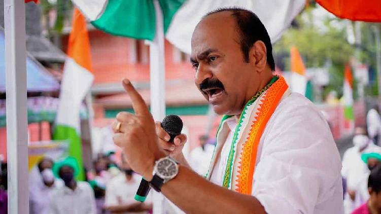 VD Satheesan about KP Anilkumar