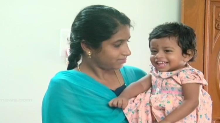21 month old baby seeks help