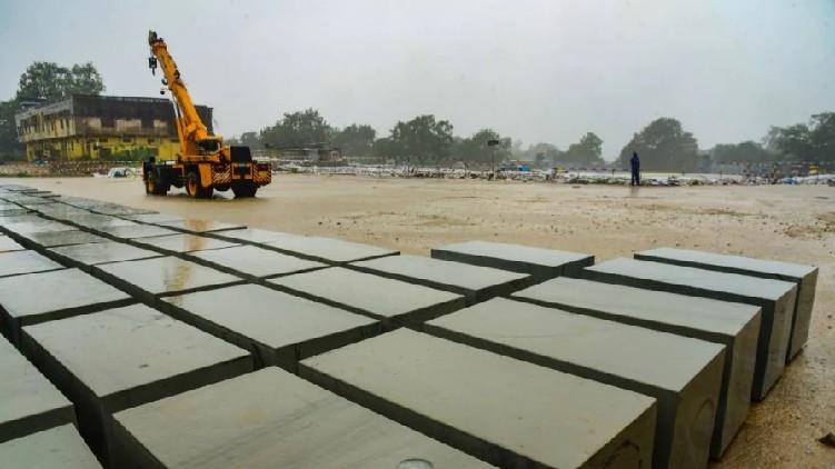 Ayodhya Ram temple construction