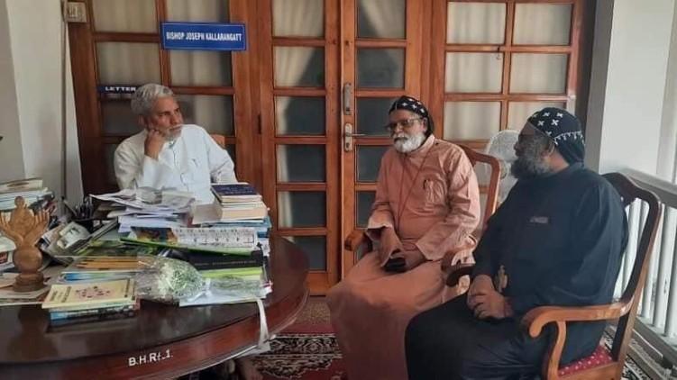 Orthodox Metropolitans met Pala Bishop