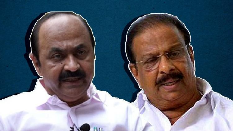 K Sudhakaran V D Satheesan