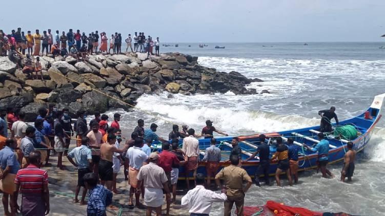 P Prasad on boat accident