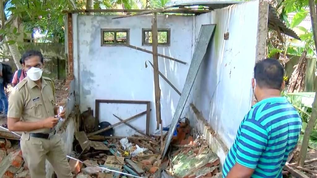 alappuzha house skeleton found