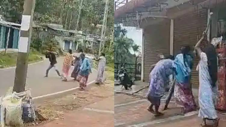 case against sisters for attack man idukki