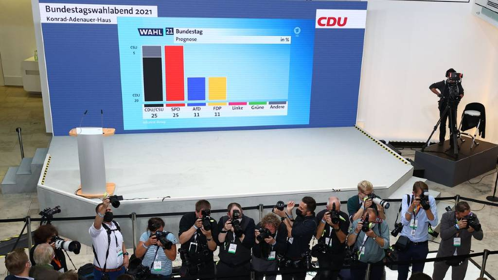 german exit poll results