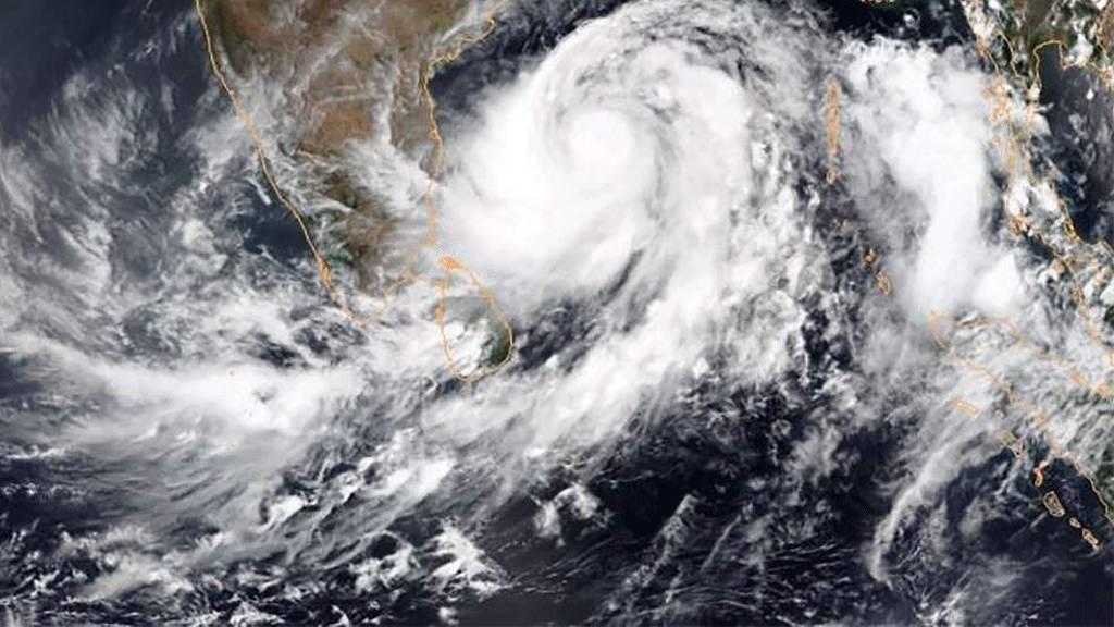 gulab cyclone warning