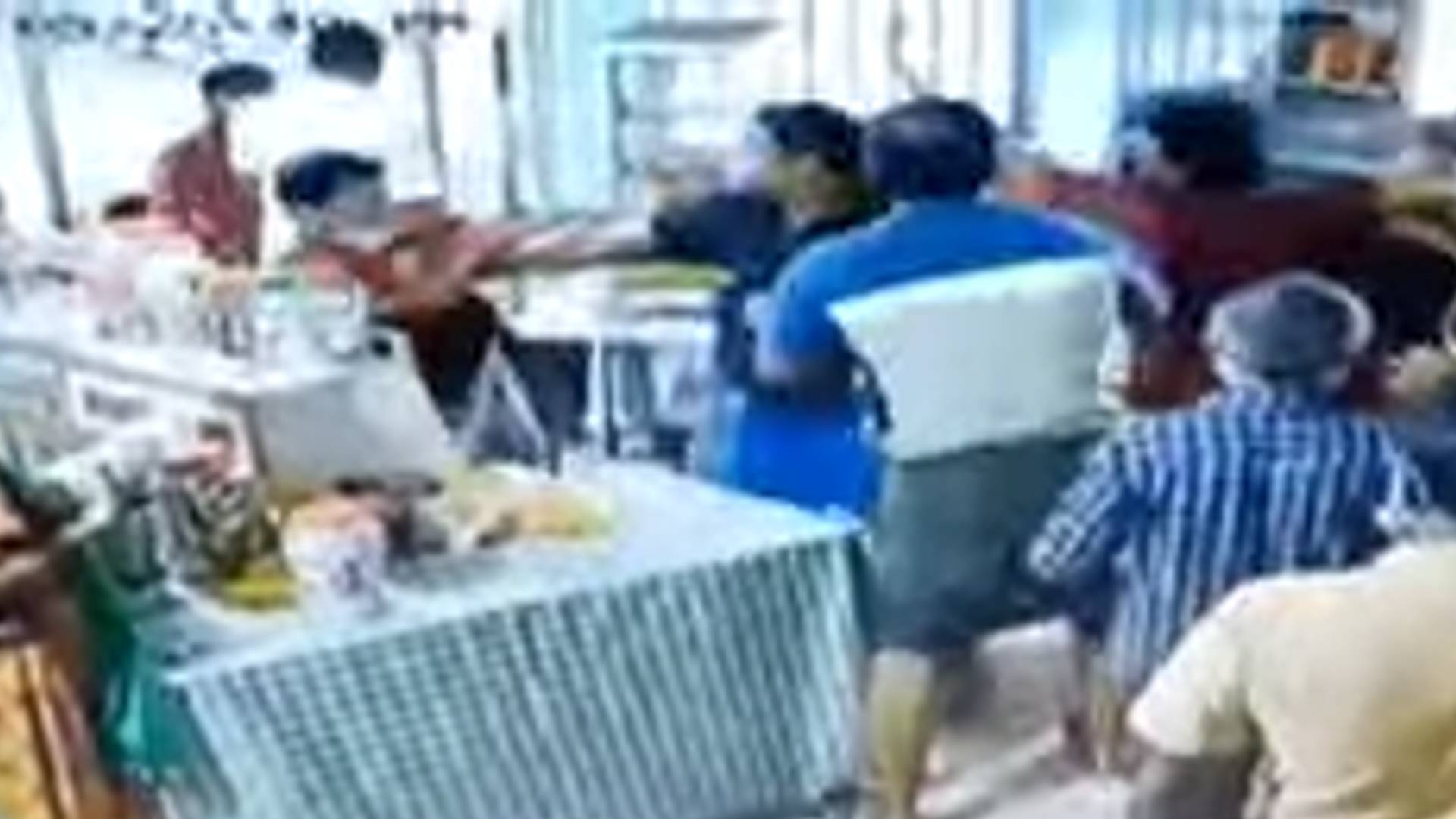 hospital canteen conflict