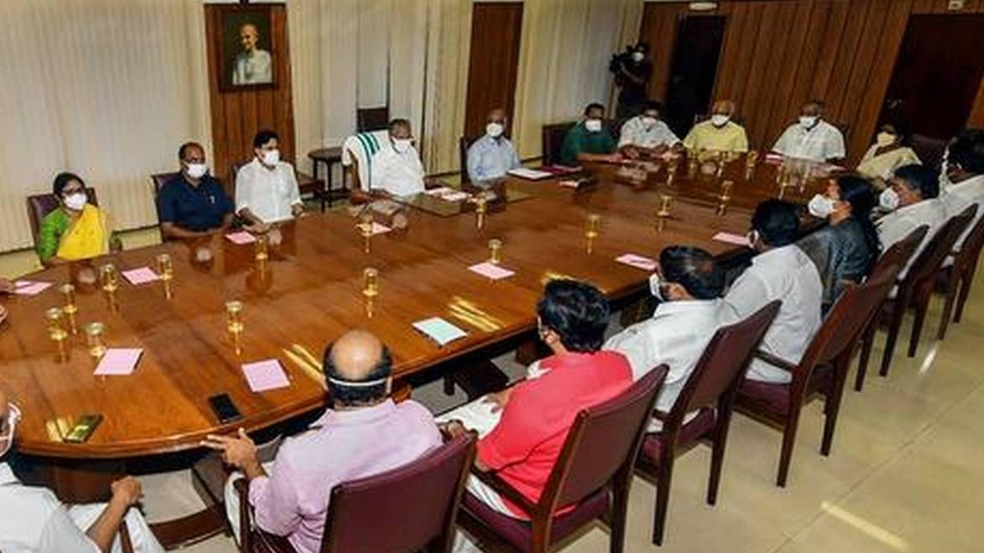 kerala cabinet meeting today