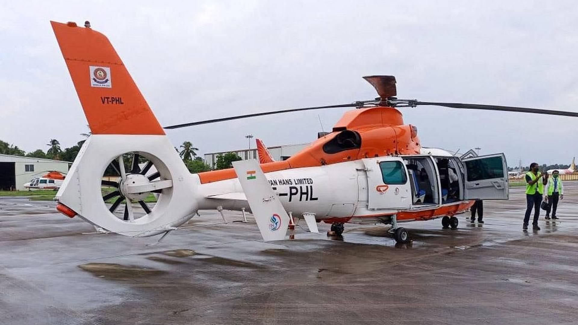 kerala govt helicopter rent