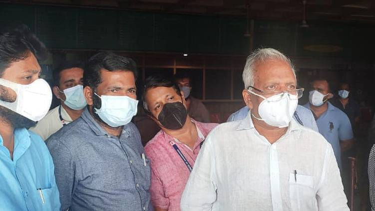 p jayarajan discharged from hospital